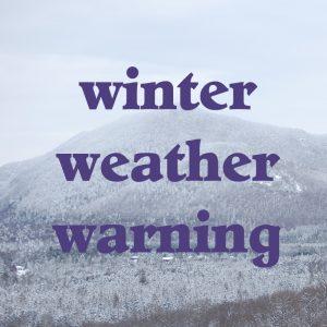winter weather warning